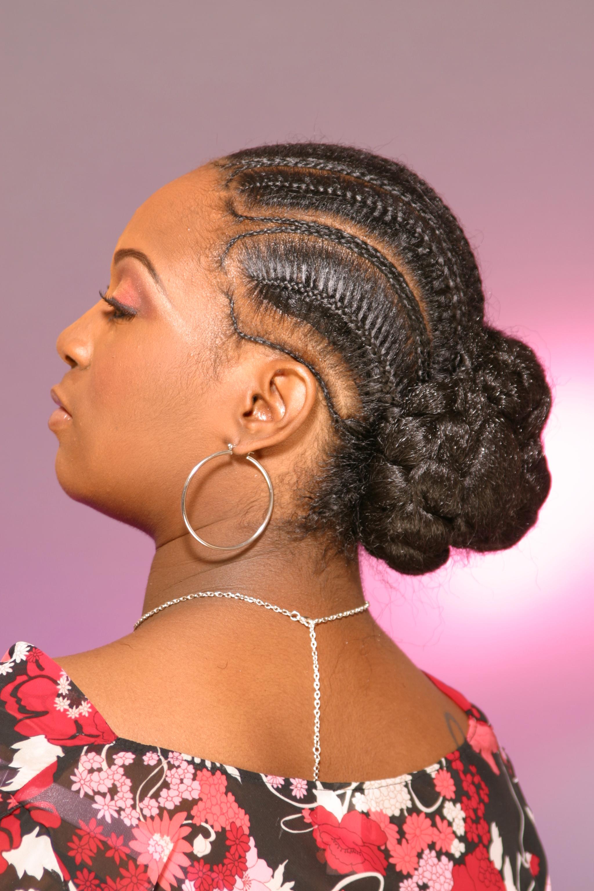 Strange How To Braid Fishtail Cornrows Braids Short Hairstyles For Black Women Fulllsitofus